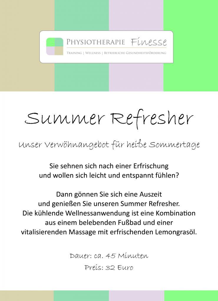 Tresen Rahmen_Summer Refresher